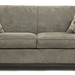 202. Contemporary Microsuede Sofa