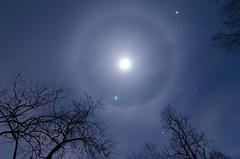Moon Dog - Explored (Michael Kline) Tags: moon river va nightsky february newriver 2013
