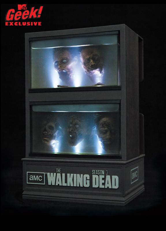 【陰屍路】第三季推出「死人頭」收藏櫃藍光套裝組合!