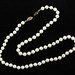 319. Pearl Necklace with Gold Clasp