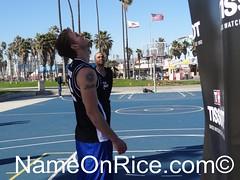 VENICE BEACH CALIFORNIA FEBRUARY 20, 2013 046 (NameOnRice.com) Tags: california venice usa beach basketball america french spurs los san texas angeles player tony antonio nba parker