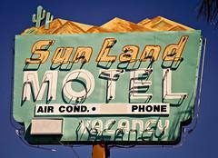 Sunland Motel - Explored (TooMuchFire) Tags: arizona signs sign vintage neon desert tucson motel americana neonsign roadsideamerica oldsign neonsigns motels motelsign oldsigns vintageneonsign vintageneonsigns motelsigns tucsonsigns sunlandmotel 465wmiraclemiletucsonaz