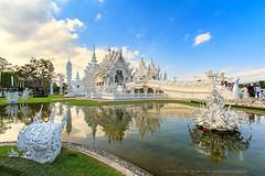 Wat Rong Khun (Noom HH) Tags: white thailand temple buddha buddhist thai wat khun rong chaingrai เชียงราย วัดร่องขุน