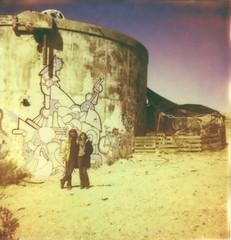 img042 (Howard Clayton) Tags: abandoned film mediumformat polaroid sx70 desert joshuatree saltonsea yashicad type100