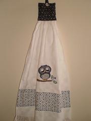 Bate Mão Coruja (Atelier Mimos da Fau) Tags: coruja copa cozinha botões bordadoamão batemão