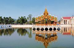 Bang Pa-In Summer palace, Ayutthaya, Thailand (kingdomany) Tags: world color art nature beauty architecture landscape asian thailand temple photo ancient nikon scenery flickr tour earth bangkok buddha traditional sightseeing thai pattaya ayutthaya aisa khaoyai d90 buddhalism
