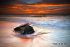 Merewether Colours (Kiall Frost) Tags: ocean red orange sun white colour beach water rock clouds sunrise newcastle landscape flow photos australia prints colourful merewether kiallfrost leefillters