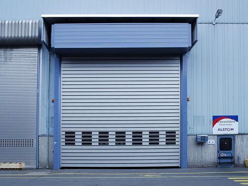 Теплые быстрые ворота.  Теплі  швидкі ворота. Efaflex. SST-US-01 Alstom
