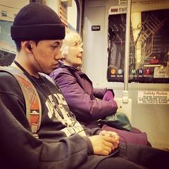 Meanwhile, On Muni (davitydave) Tags: sanfrancisco bus train subway square publictransportation muni squareformat commute commuter rider earlybird trainstalking iphoneography instagramapp uploaded:by=instagram foursquare:venue=4fa2cdb6e4b0e0605e4b2993