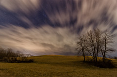 Unwelcomed Visitor (Michael Kline) Tags: clouds stars march va nightsky daleville 2013