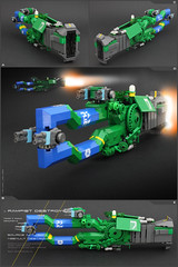 SOURCE 'RAMFIST' DESTROYER (Pierre E Fieschi) Tags: lego pierre space tribal destroyer pirate micro spaceship concept source microspace faction fieschi microscale microspacetopia pierree ramfist