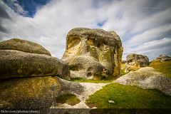 Elephant Rocks, New Zealand
