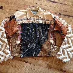 #aztec #denim #detail #leather #crocodile #shearling #fur #native #nativeAmerican #style #swag #fashion #warm #heavy #coat #vampire #vampirekillahs #custom #cutandsew #fabric #material (Saiyd Muhammed The Clothing Designer) Tags: usa art philadelphia fashion square design bahrain clothing singapore dubai artist order designer pennsylvania palestine craft style sew jordan pa jakarta mohammed abudhabi arab squareformat malaysia saudi reflective philly kuwait arabian custom oman saudiarabia couture onsite gifted stylish qatar bedouin construct fashiondesign stylist muhammed costumedesigner custommade fashiondesigner madetoorder costumedesign fashionhouse artlife starvingartist cutandsew iphoneography instagramapp uploaded:by=instagram saiydmuhammed saiyd americanbedouin