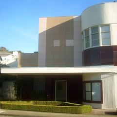 1940s Vitrolite Building (JAVA1888) Tags: california ca building art glass architecture vintage tile san francisco 1940s streamlined deco vitrolite
