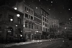 McDermot (bryanscott) Tags: winter snow building architecture winnipeg manitoba