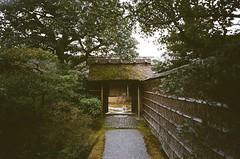 Behind the door (我的小風景) Tags: leica ltm film japan kyoto kodak 28mm 京都 日本 m3 桂離宮 hd200 grlens