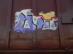Bummer Town (Sk8hamburger) Tags: railroad art train painting graffiti paint tag rr boxcar graff piece tagging freight buffed paint fuckthebuff spray