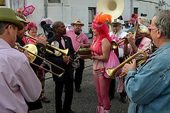 Pussyfooters' Second Line and Block Party for Lydia Benson