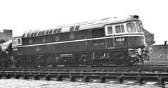 Railways - D6539 on Hither Green Shed (Biffo1944) Tags: railway hithergreen 73c class33 d6539 hithergreenshed