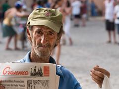 La Habana : people (!Michel Grenier!) Tags: portrait people dof bokeh havana cuba caribbean cuban lahabana plazadelacatedral caraïbes oldhavana havane vieuxhavane olympusem5 olympusm75mmf18