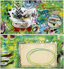 (Roben-Marie) Tags: mail mixedmedia painted mailart inked layered collaged doodled robenmarie