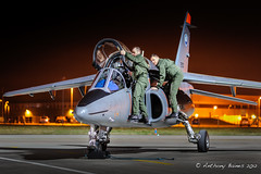 Armee de l'Air Alpha at Northolt (DrAnthony88) Tags: modern de aircraft military jet nightshoot alpha raf armee lair alphajet northolt armeedelair rafnortholt modernmilitary nnsxiv