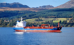 CHEMTRANS OSTE, Brodick Bay Island Of Arran Scotland (Time Out Images) Tags: island bay coast scotland clyde north brodick arran tanker firth ayrshire oste of chemtrans ayrshirecoast