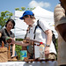 UNDP Administrator Helen Clark at Bijagual Community products display - Costa Rica