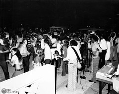 Dance and Concert, 1973 (Valdosta State University Archives) Tags: dance africanamericans concerts 1970s 1973 integration performances dances bellbottoms valdostastatecollege