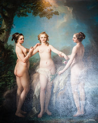 Three Graces (Sandra Whiteway) Tags: threegraces chateau loirevalley chenonceau jeanbaptistevanloo