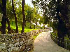 Road to St Charbel Hermitage - Lebanon (Hanna Khoury) Tags: road lebanon tree saint st mar catholic christian sentier liban   charbel maronite