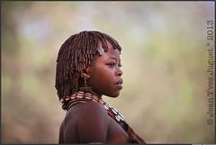 "Les ""Hamer"" - ""Hamar Tribe"" ( Jean-Yves JUGUET ) Tags: africa portrait people woman photography faces jean african tribal valley tribes afrika yves ethiopia ethnic minority karo mursi hamar tribo hamer ethnology tribu omo ethiopie oromo ethnique ethnies juguet minorité"