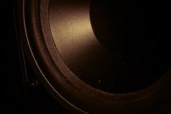 Bass! How Low Can You Go... (86/365) (IFM Photographic) Tags: blackandwhite bw music stilllife monochrome canon cone buckinghamshire flash speaker princes 70300mm tamron bucks publicenemy risborough princesrisborough bringthenoise tamron70300mm 600d 85365 tamron70300mmf456dildmacro speedlite430exii img6578a
