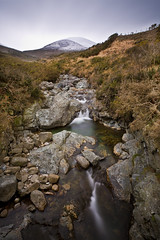 Snow Capped Mournes (jfm_images) Tags: county ireland cloud snow mountains canon river newcastle bush rocks ngc down 5d northern 1740 mourne f4l