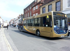 Stagecoach Gold (PD3.) Tags: city uk england west bus buses station downs gold sussex cathedral south patrick moore 51 300 sir selsey stagecoach chichester enviro psv pcv adl aof 27843 gx13 gx13aof chichesteredinburgh