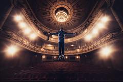 Antti Untamala Promoshoot @ Aleksanter Theatre Helsinki Finland (CeeTeeKoo) Tags: music man promotion theatre levitation violin aleksander teatteri aleksanterin