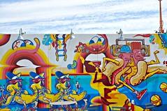 Sheryo & The Yok (8333696) Tags: new york urban streetart newyork art coneyisland island mural paint artist yok spraypaint walls graff coney graffit brookly brooklynstreetart nygraffiti nystreetart sheryo coneyislandartwalls brooklygraffiti