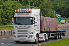 SCANIA - Beedie Bros Ltd  M400 BBL (john_mullin) Tags: uk truck scotland dundee transport scottish goods vehicles lorry delivery vehicle british trucks tayside freight trucking distribution logistics supply commercials lorries haulage hgv