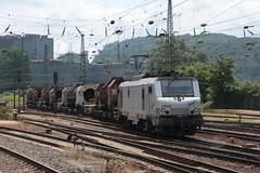 37002 (yann.train) Tags: train railway marathon prima akiem 37000 bb37000 37002 bb37002 alstom lectrique wagontorpille vlklingen