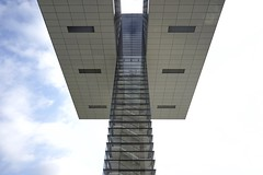 stairway to heaven (winne pu) Tags: architecture cologne kln germany rheinauhafen