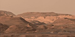 Curiosity Rover: Postcard from Mars (PaulH51) Tags: rightmastcamera mosaic pdsbrowseimages malinspacesciencesystems msss curiosityrover msl mars planetmars nasa jpl caltech galecrater lewisandclarktrail science exploration discovery geology rocks sharpened mtsharp