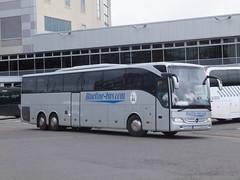Blueline-bus SV350BA Derby (Guy Arab UF) Tags: bluelinebus slovakia sv350ba mercedes benz tourismo derby bus station international coach service buses