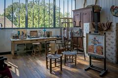 Suzanne Valadon's workshop (Dan Guimberteau) Tags: paris art artist impressionism model montmartre museum nikond7100 painter ledefrance france fr