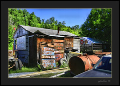 Great Gas (the Gallopping Geezer 3.8 million + views....) Tags: car automobile truck oldie vintage classic old historic abandoned decay decayed worn derelict faded masonmotors collection forsale mason mi michigan upperpeninsula past canon 5d3 tamron 28300 geezer 2016