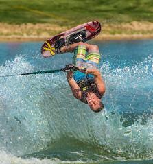Steven Flipping (Ms Stacy) Tags: 2016 waterski trickski flip flipping sports watersports