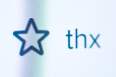 thx (Fotogezwitscher) Tags: screen flickr star fav thx thank you macro mm stars macromondays concept