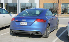 Audi TT RS (SPV Automotive) Tags: audi tt rs coupe exotic sports car blue