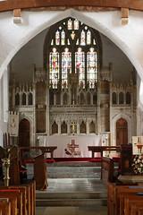LLantwit Major, Glamorgan (Vitrearum (Allan Barton)) Tags: llantwitmajor glamorgan church medieval wallpaintings reredos