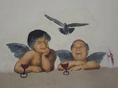 Charlie Hebdo (Claeryss) Tags: charlie hebdo hommage street art paris angel