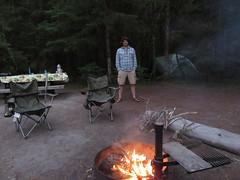 mr. firemaker (carolyn_in_oregon) Tags: mthoodnationalforest lostcreek camping mthood al allie oregon